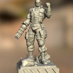 Download 3D printing files KAI BARRET WALLACE, raul111