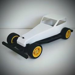 Imprimir en 3D gratis STOKAR - 1:12 RC Stock Car, Skirmitt