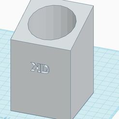 pot crayon.JPG Télécharger fichier STL gratuit Pot à Crayon • Modèle imprimable en 3D, dkerfers