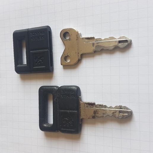 Download Free 3D Printer Designs Peugeot 205 Key ・ Cults