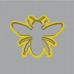 1.jpg Download STL file Bee Cookie Cutter • 3D print design, rabotilnicata