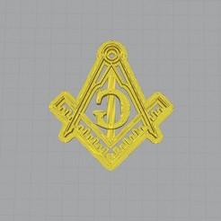 1.jpg Download STL file Freemasonry Cookie Cutter • 3D print model, rabotilnicata