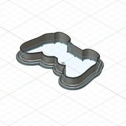 1.jpg Télécharger fichier STL Coupe-biscuits à manette • Modèle pour impression 3D, rabotilnicata