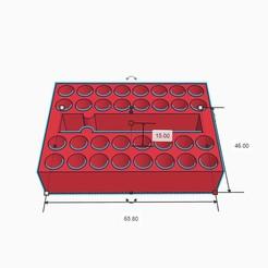 1.jpg Télécharger fichier STL Affaire des bits de vis • Design à imprimer en 3D, rabotilnicata