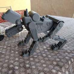 IMG_20180327_184845514.jpg Download free STL file Panzerhund Robot Attack Dog • 3D printer template, Masterkookus