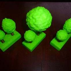 Download free STL file Tree Gaming Tiles • 3D printing template, Masterkookus