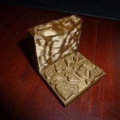 P1000921.JPG Télécharger fichier STL gratuit Carrelage du mur de la grotte • Objet imprimable en 3D, Masterkookus