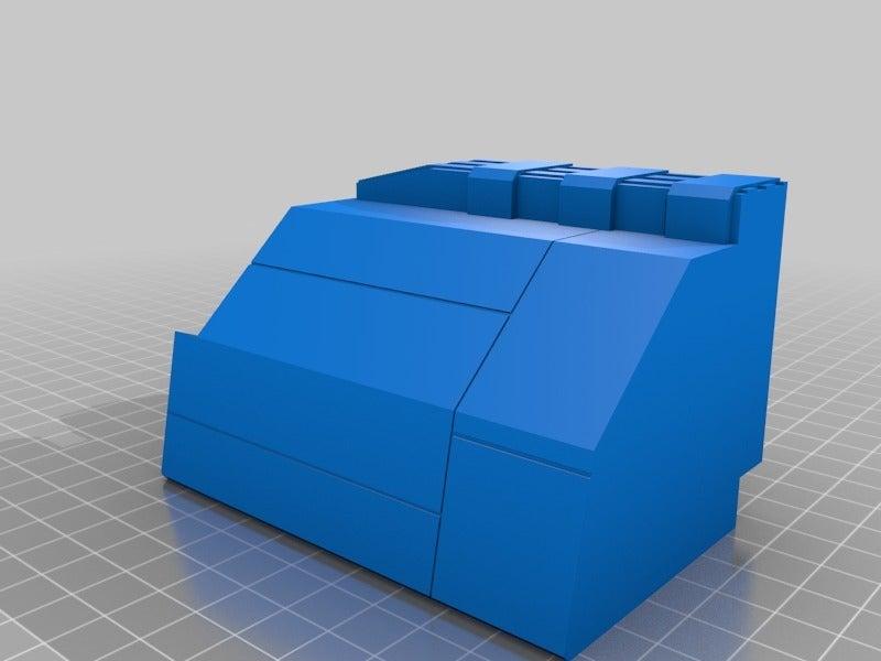 49f43c4041fee06e05480d4bef42125d.png Télécharger fichier STL gratuit Frégate Nebulon B (coupée et sectionnée) • Modèle pour impression 3D, Masterkookus