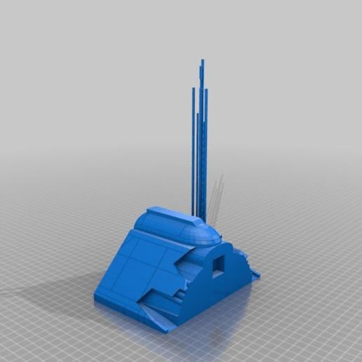 3440c059b9804658de19fc3e60d9eead.png Télécharger fichier STL gratuit Frégate Nebulon B (coupée et sectionnée) • Modèle pour impression 3D, Masterkookus