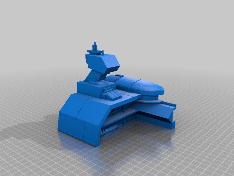 f35035fd49fa2d6d894469d337f8f747.png Télécharger fichier STL gratuit Frégate Nebulon B (coupée et sectionnée) • Modèle pour impression 3D, Masterkookus
