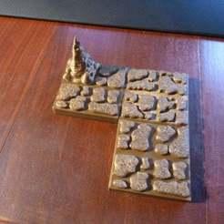P1000947.JPG Télécharger fichier STL gratuit Carreaux de sol de caverne • Objet à imprimer en 3D, Masterkookus