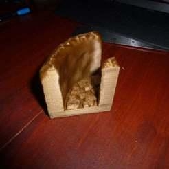 Download free STL file Cavern Hallway Curve • 3D print template, Masterkookus