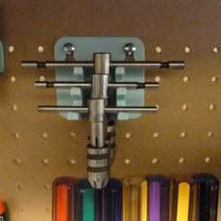 Download free 3D printing designs Tap Wrench Rack, Masterkookus