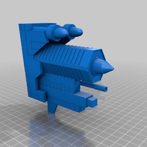 6815c80a056bed3f0618c965b1934104.png Télécharger fichier STL gratuit Frégate Nebulon B (coupée et sectionnée) • Modèle pour impression 3D, Masterkookus