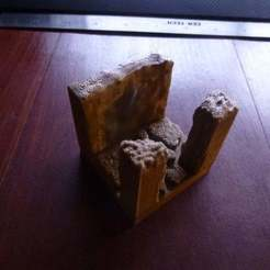 Download free STL file Cavern Hallway T Junction • 3D printer template, Masterkookus