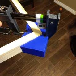 IMG_20170912_193121324.jpg Download free STL file Corner Clamps for Harbor Freight Quick Release Clamp • 3D printing model, Masterkookus