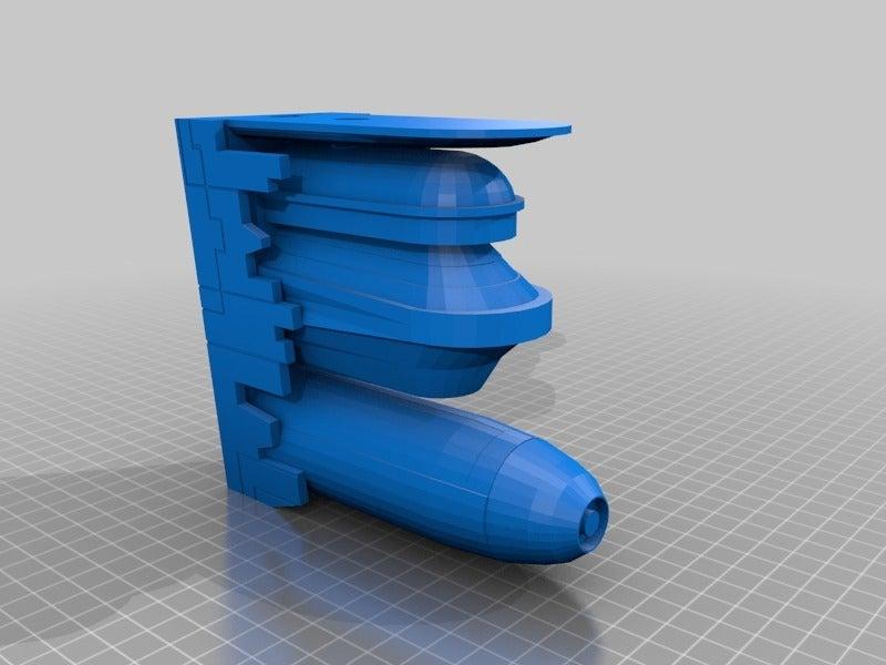 ace004a765d8c8339a90dca3f94b651d.png Télécharger fichier STL gratuit Frégate Nebulon B (coupée et sectionnée) • Modèle pour impression 3D, Masterkookus