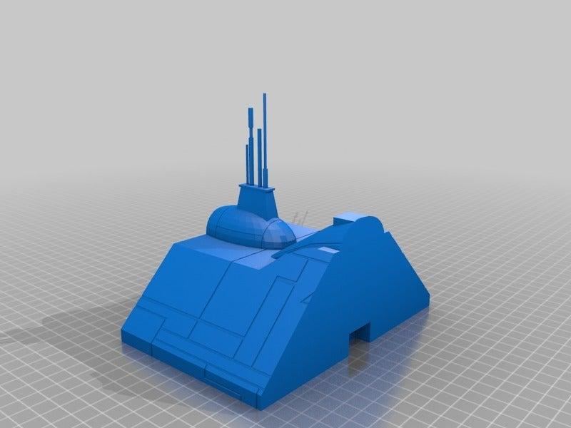 9f6ba686f4d988a48b8a9e8434a89ebd.png Télécharger fichier STL gratuit Frégate Nebulon B (coupée et sectionnée) • Modèle pour impression 3D, Masterkookus