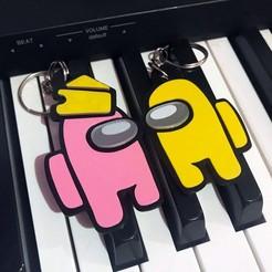122459472_274904947073083_4984855009408140509_n.jpg Download OBJ file Among Us keychain • 3D printer design, loguna