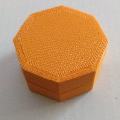 Download free SCAD file Small screwtop container • Object to 3D print, cavac