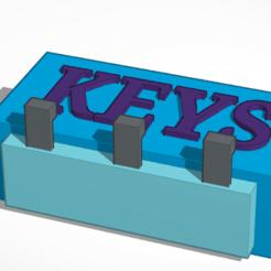 keys1.png Download STL file Keys • 3D printing template, SandPool13