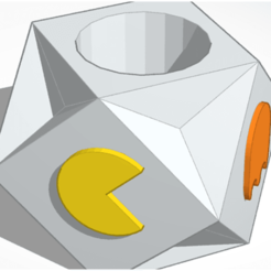 pacman pot1.png Download STL file Pacman pot • 3D printable model, SandPool13