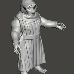 2020-12-17_010944.jpg Download free STL file The Hooded Man • 3D printing template, Lord_Protektor