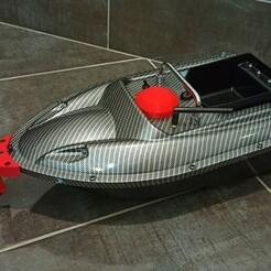 IMG_20210120_113420.jpg Télécharger fichier STL support Deeper chirp+ pour bateau amorceur chinois • Design imprimable en 3D, bengoumiz