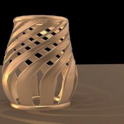 Download 3D printer designs twisted pot, nill_2020