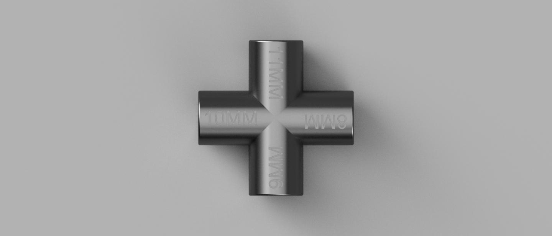 Clef Multipass 8-9-10-11MM v1 vue dessus.png Télécharger fichier STL gratuit MAGIK-TRASH3D - Clefs triangle pour poubelles recyclables jaunes  • Objet à imprimer en 3D, Bobypeche