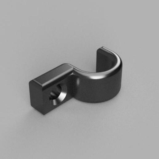 Porte Cable photo rendu.jpg Télécharger fichier STL gratuit PORTE CABLE - SUPPORT A VIS • Objet imprimable en 3D, Bobypeche