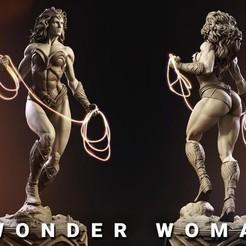 Descargar archivos 3D gratis wonder woman, linox455