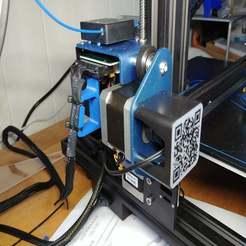 20191207_124649.jpg Download free STL file CR-10 V2 Wire Strain Relief • 3D printer design, RedSquirrelHobbies
