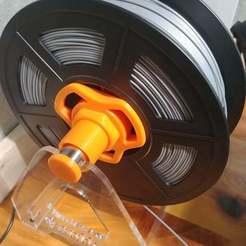 20200422_122519.jpg Download free STL file Sulnlu S8 Filament holder upgrades • 3D printable model, RedSquirrelHobbies