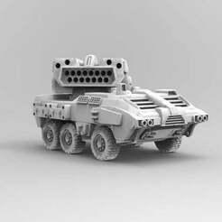 striker.jpg Download free OBJ file Midfielder Light Tank • Object to 3D print, carl_s_z