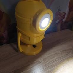 IMG_20200520_200908.jpg Télécharger fichier STL Lampe de mineur • Plan pour impression 3D, 3DPlanMaker
