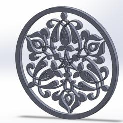 Capture0.PNG Télécharger fichier STL Arabic pattern circle • Modèle imprimable en 3D, vetaymex