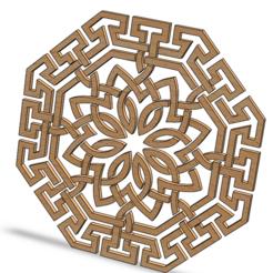 Capture032.PNG Télécharger fichier STL Arabic pattern circle • Modèle imprimable en 3D, vetaymex