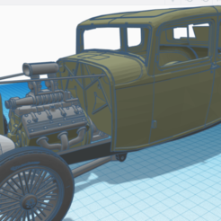 Download 3D model bullys-rc 1932 Ford 5-window coupe parts pack, Bullys_custom_model_parts
