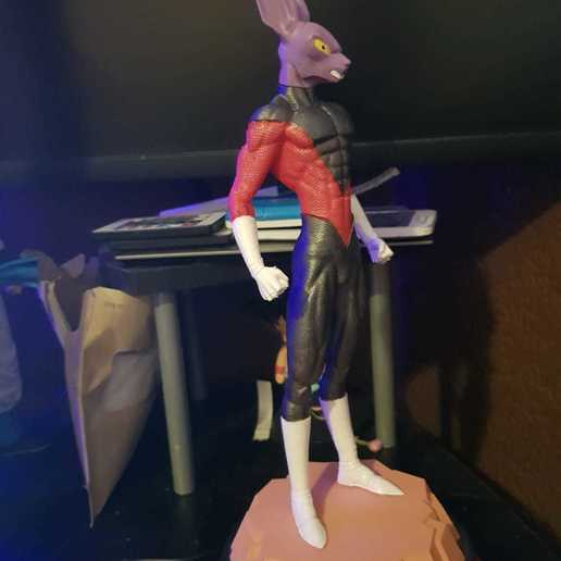 3d Printable Dyspo Dragon Ball Super Made With Ender 5 Cults