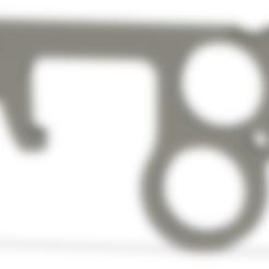 Descargar archivos STL gratis Abridor de la puerta de la Corona y pulsador de botones, skorm94