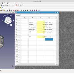 freecadice.png Télécharger fichier STL gratuit Dé Parametrique, Dice • Modèle pour imprimante 3D, phhilou