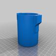 Télécharger fichier impression 3D gratuit Séparateur magnétique (pour aimant de recherche de 58 mm de diamètre), Romualdych
