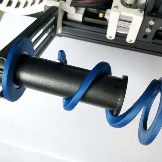 IMG_20190127_140007.jpg Télécharger fichier STL gratuit Ender-3 Adaptateur de bobine 52 mm • Modèle imprimable en 3D, Romualdych