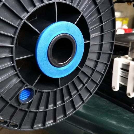IMG_20190127_135619.jpg Télécharger fichier STL gratuit Ender-3 Adaptateur de bobine 52 mm • Modèle imprimable en 3D, Romualdych