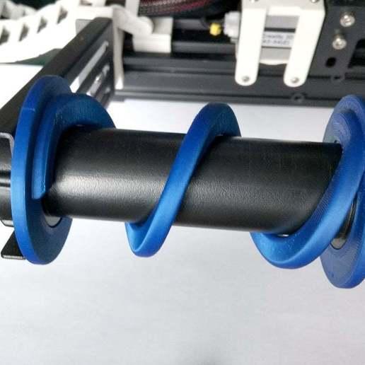 IMG_20190127_135908.jpg Télécharger fichier STL gratuit Ender-3 Adaptateur de bobine 52 mm • Modèle imprimable en 3D, Romualdych