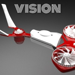 PicsArt_05-02-01.16.19.jpg Download STL file The ViSiON Drone • 3D printable template, Shadow15