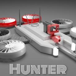 PicsArt_05-11-03.05.44.jpg Download STL file The HUNTER Drone • 3D printing design, Shadow15