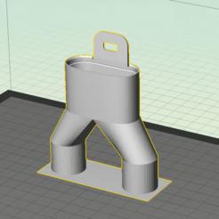 Descargar archivos STL gratis Adaptador de doble salida Easybreath - covid19 - impresión rápida - sin material de soporte, Gilles_Tsr