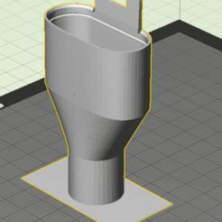 easybreath-covid.png Télécharger fichier STL gratuit Easybreath single output adapter - covid19 - fast print - no support material • Design imprimable en 3D, Gilles_Tsr